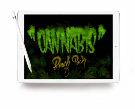 Cannabis Brush Pack Procreate
