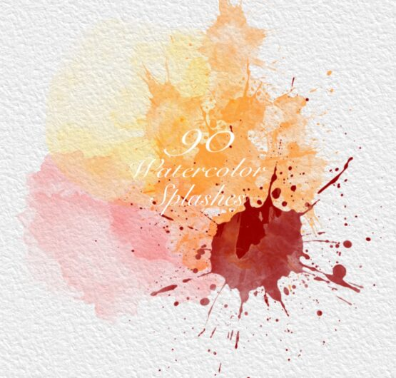 Watercolor splash for Procreate